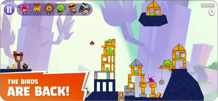 angry birds reloaded apple arcade game screenshot