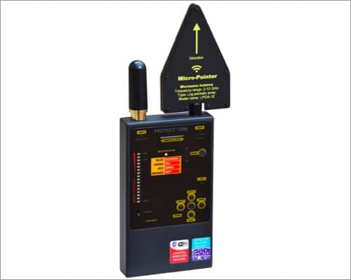Defcon DD1206 professional grade hidden camera detector