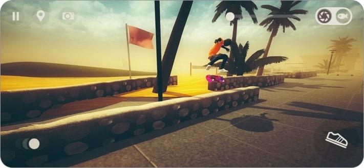 skate city apple arcade game screenshot