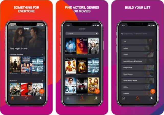 Tubi Anime Streaming App Screenshot