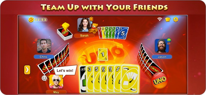 uno game to play on facetime iphone ipad screenshot