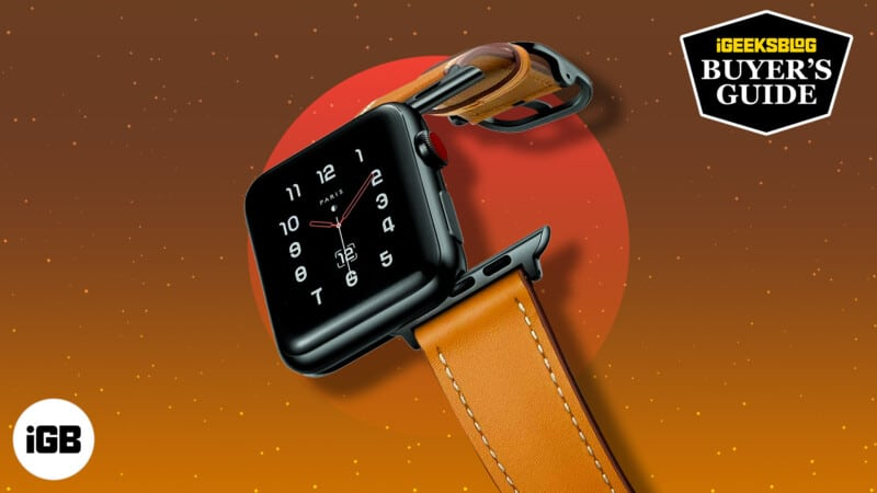 10 Best Apple Watch leather bands