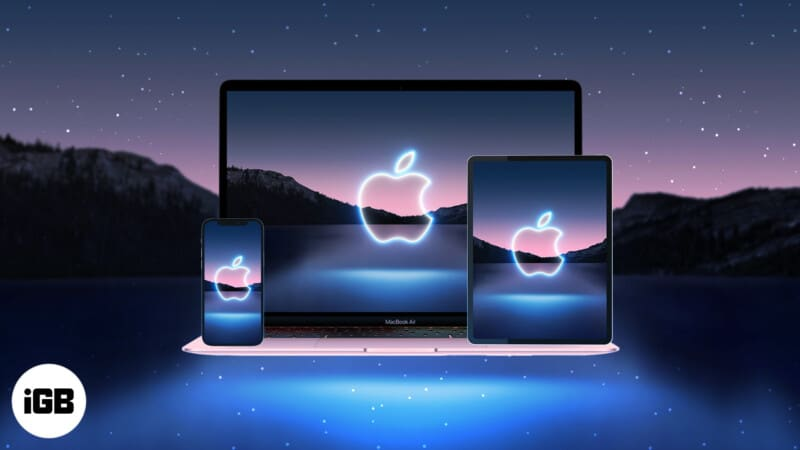Apple California Streaming event 2021 wallpaper