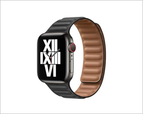 Apple Magnetic leather-link band for Apple Watch