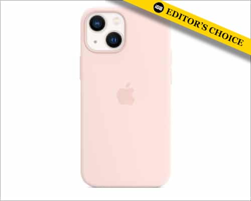 Apple silicone case with Magsafe for iPhone 13 mini