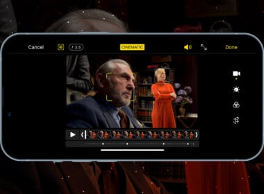 Apple's Cinematic Mode on iPhone 13