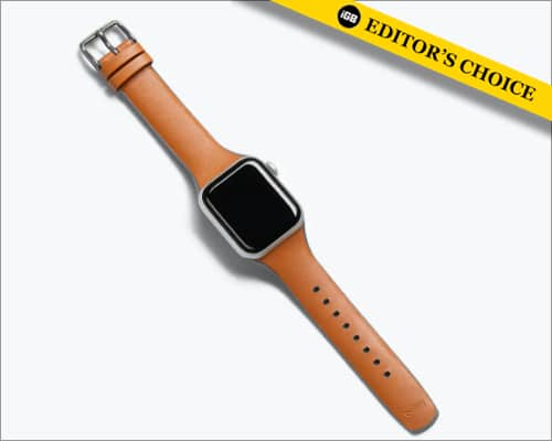 Bellroy leather Apple Watch strap