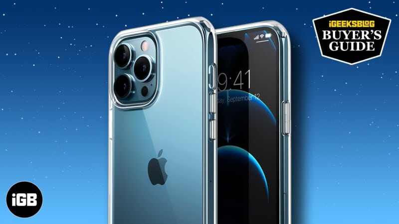 Best iPhone 13 Pro Max clear cases