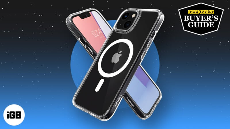 Best iPhone 13 and iPhone 13 Pro clear cases