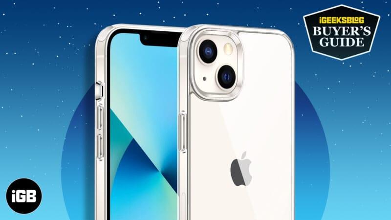Best-iPhone-13-mini-Clear-Cases