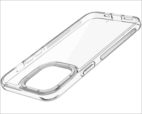 Caseology Skyfall Clear Case Compatible with iPhone 13 Mini Case