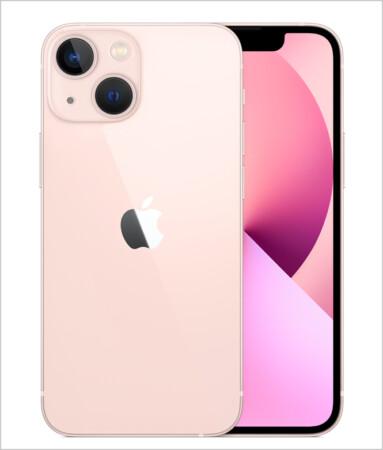 Compact design of iPhone 13 mini