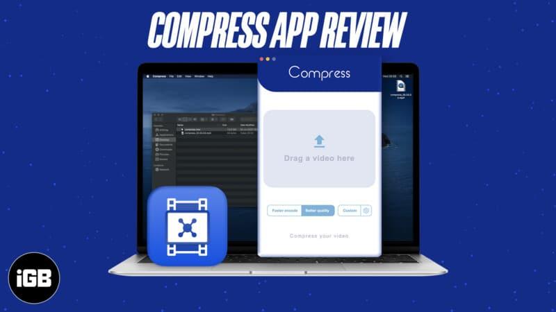 Compress Video Compressor Mac app review