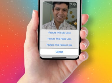 How to block someone in Photos Memories on iPhone