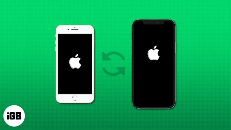 How to transfer your data from old iPhone to new iPhone