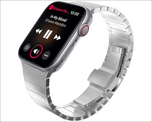 KADES stainless steel strap for Apple Watch