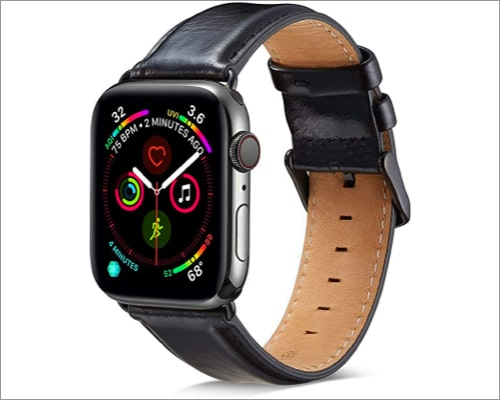 Mapuce genuine leather band for Apple Watch