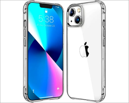 Mkeke Transparent case for iPhone 13 and iPhone 13 Pro