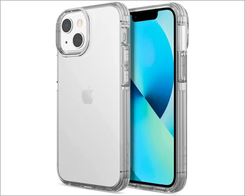 Raptic Clear Case Compatible with iPhone 13 Mini Case