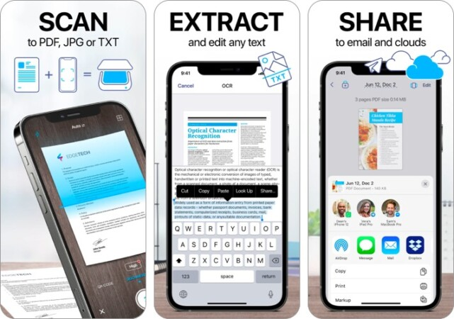 Scanner App PDF Document Scan for iPhone