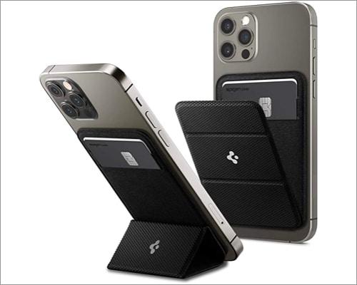 Spigen Smart Fold Magnetic Wallet Card Holder for iPhone 13