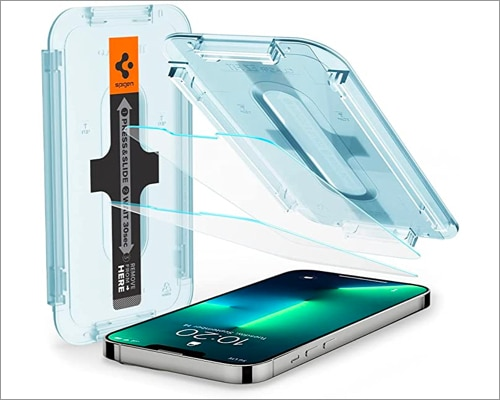 Spigen Tempered Glass Screen Protector for iPhone 13 lineup