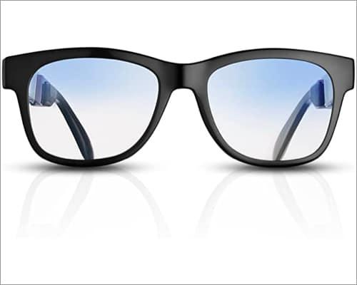 VocalSkull Black Audio smart glasses