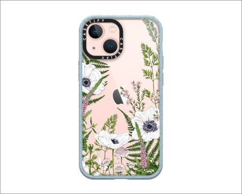 Wild Meadow CASETiFY sustainable cases for iPhone 13 mini