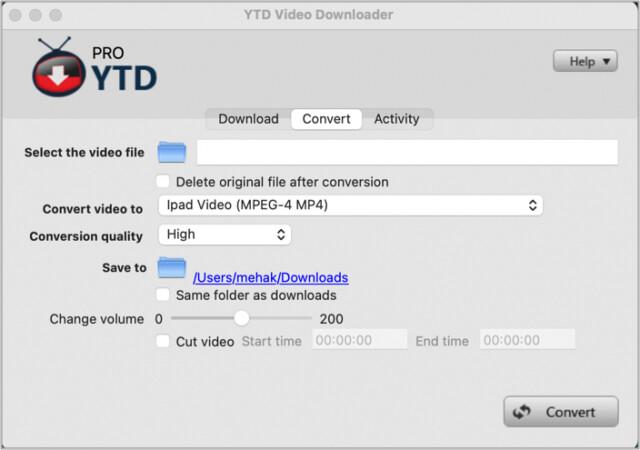 YTD Video Downloader Mac app
