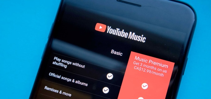 YouTube Music cost