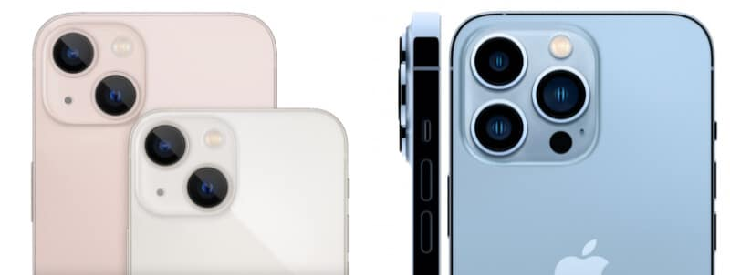 iPhone 13 Pro and Pro Max camera hardware