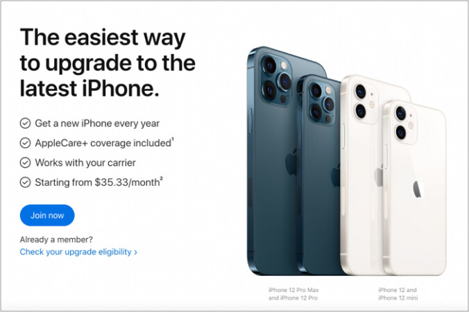 iPhone Upgrade-Programm mit Apple