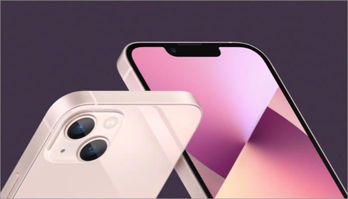 iPhone 13 finally gets a smaller notch
