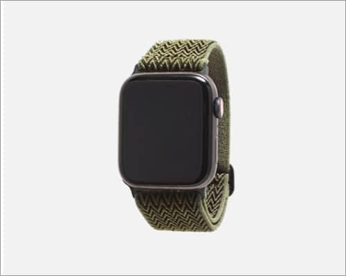 monowear apple watch band nylon infinite wave seaweed