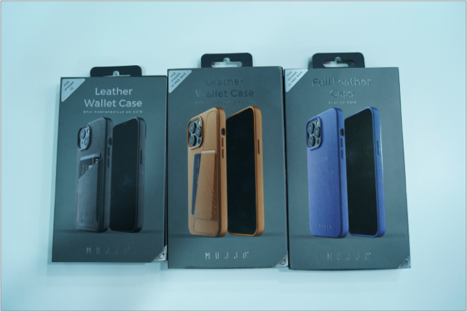 mujjo cases for iPhone 13 series
