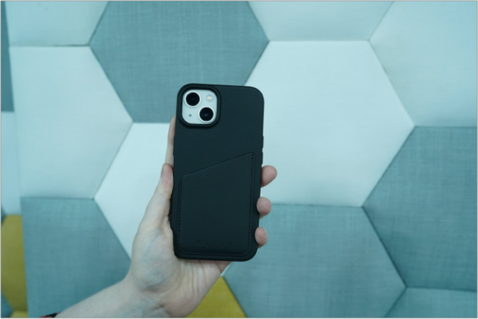 mujjo iphone 13 leather case