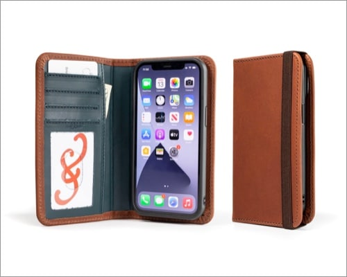 Pad & Quill LeatherSafe Pocket Book iPhone 13 and 13 Pro