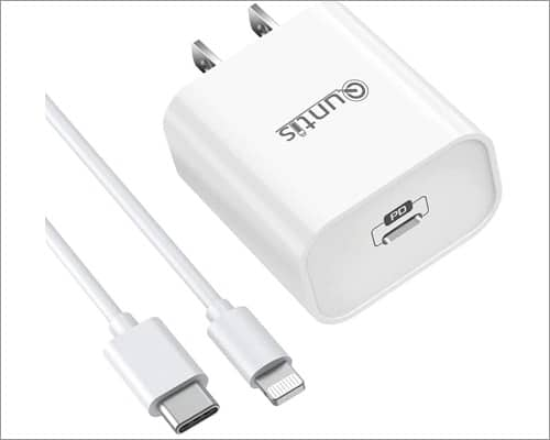 quntis fast charger for iphone
