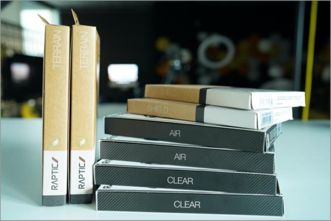 raptic iphhone 13 case packaging