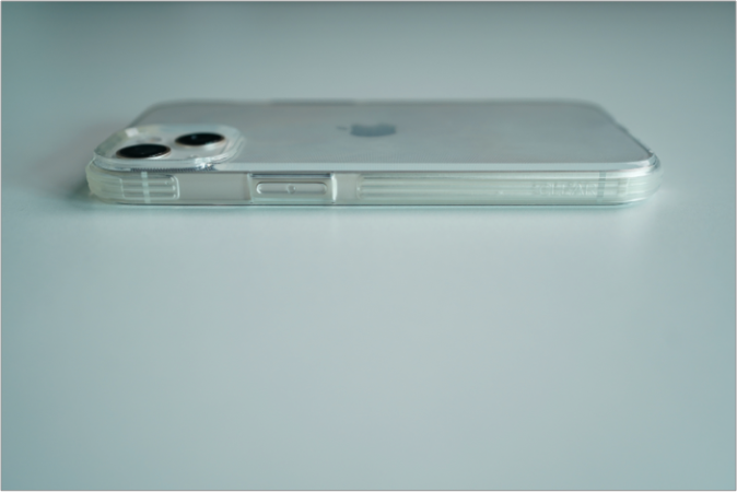 raptic iphone 13 clear case photo