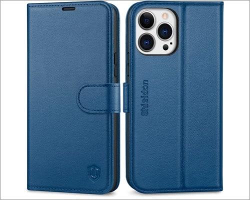 shieldon iphone 13 pro max folio case