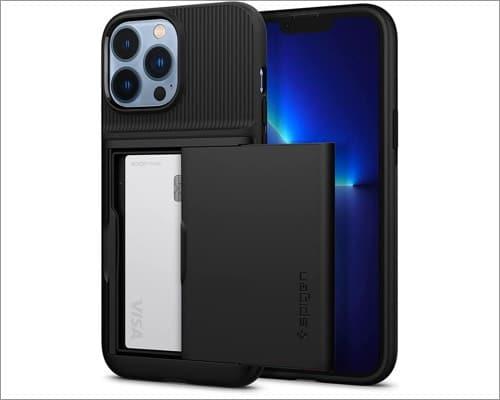 spigen slim armor iphone 13 pro max wallet case