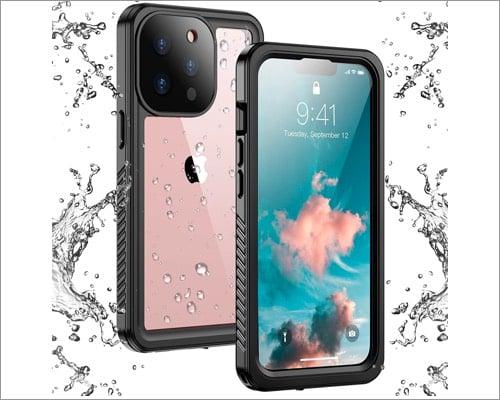 temdan iphone 13 pro max waterproof case