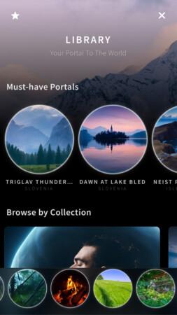 40 different scenes in Portal iOS app