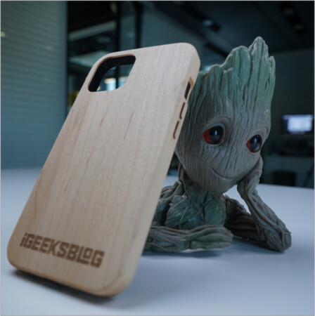 6 feet drop protection in KERF's plywood iPhone 13 cases