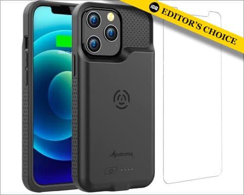 Alpatronix 6500mAh schlankes Batteriefach