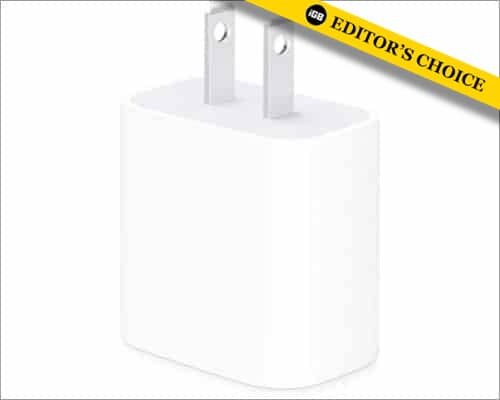 Apple 20W power adapter for iPhone