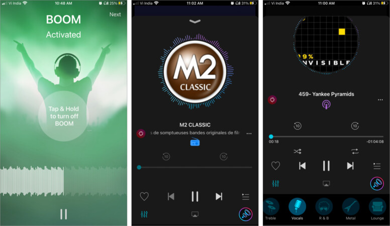 Bass Booster & Equalizer app for iPhone