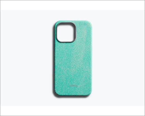 Bellroy leather case for iPhone 13 and 13 Pro