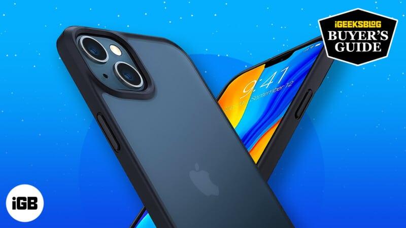 Best bumper cases for iPhone 13 mini